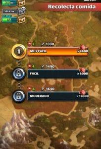 Recolecta-Comida-Empires-&-Puzzles-Empuz